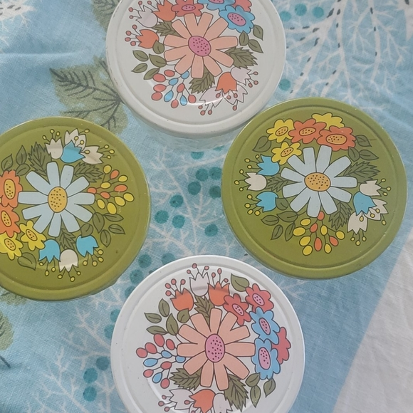 Vintage Other - Vintage Ball quilted jelly jars